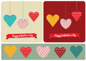 Patterned Hearts for Valentine's Day