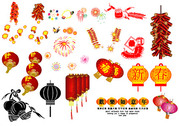 Vector Graphic Elements Of The Spring Festival