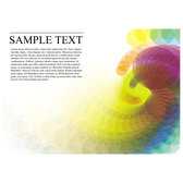 POSTER TEMPLATE WITH COLORFUL BACKGROUND.eps