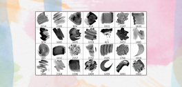 28 High Resolution Watercolour Brushes