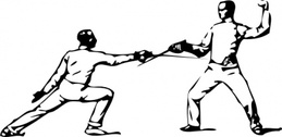 Fencing Parry Of Octave