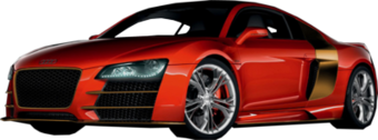 Audi R8 Iron Man Limited Edition PSD