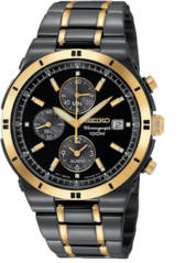 Black And Gold Rolex Watch PSD