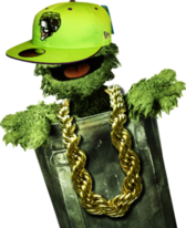 Oscar Tha Grouch and Fitted PSD