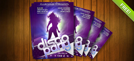 Nacht Club Flyer PSD-sjabloon