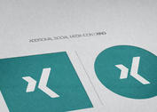 Additional Flat Social Media Icon Vector | Xing