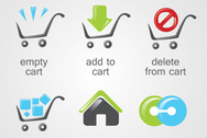E-Commerce Shopping Cart Icons
