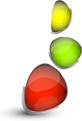 Vector Colorful Small Stones