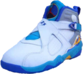 Jordan 8 |Light Blue & Yellow| PSD
