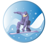 Snowboarder Vector Art