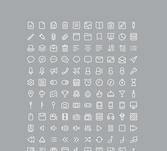 Glyphe de 220 Icon Set