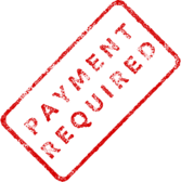 Payment Required Business Stamp 2