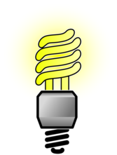 Energy Saver Lightbulb - Bright