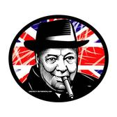 WINSTON CHURCHILL VECTOR ILLUSTRATION.eps